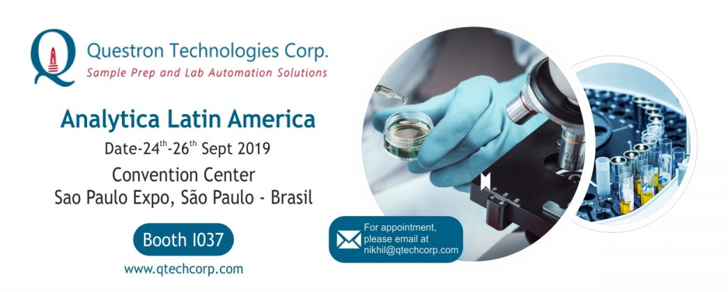 Come and meet us at the Analytica Latin America Sao Paulo Expo!!